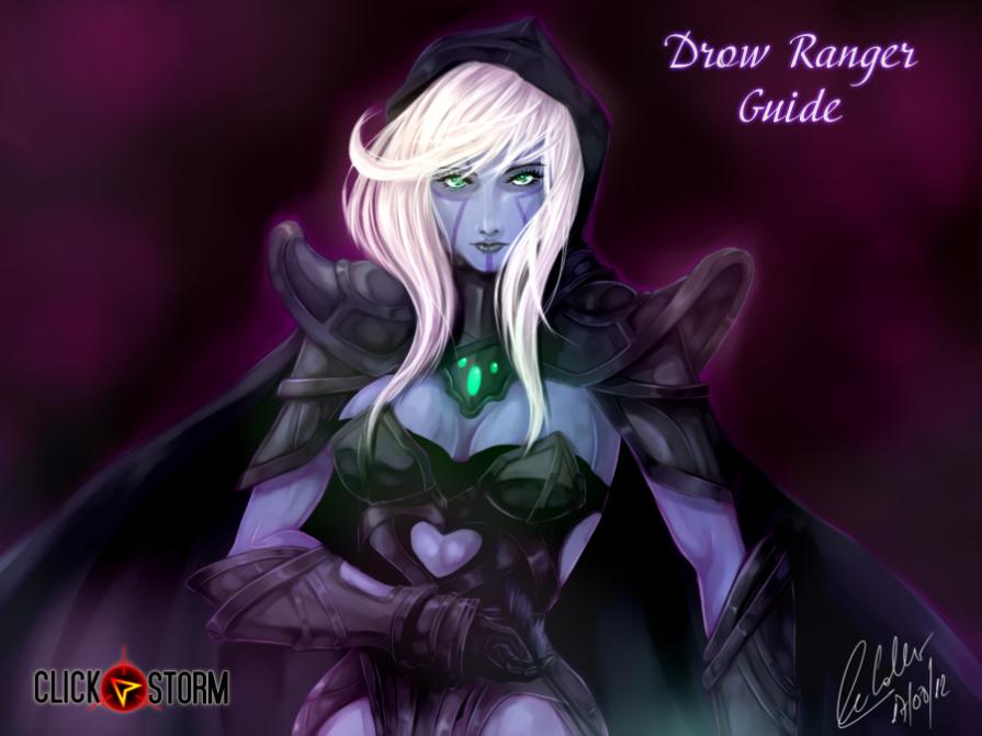 Drow Ranger Dota 2 Immortals: Dota 2 Drow Ranger Guide: An Easy Way To Dominate