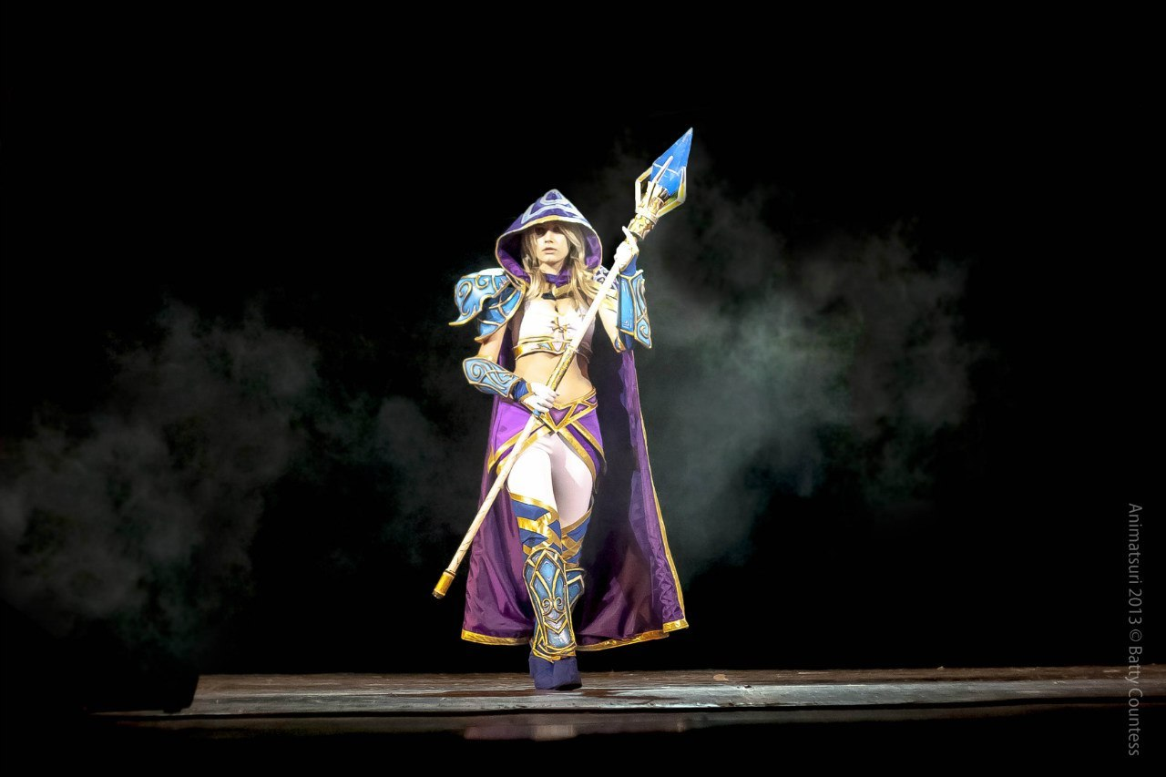 Jaina proudmoore the young sorceress in warcraft  anime videos