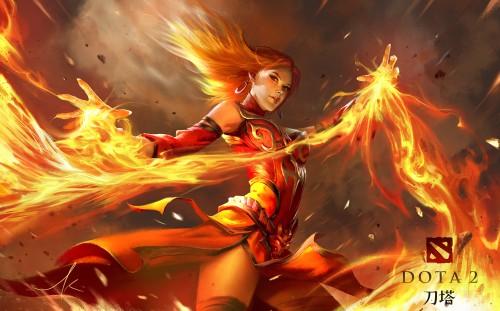 Item Build For Lina Dota Fire
