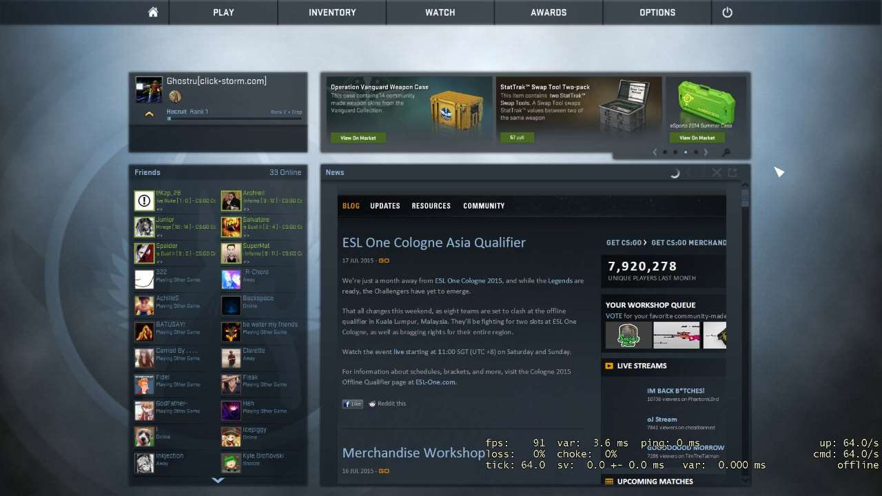 Where can I open the cs go cases for free