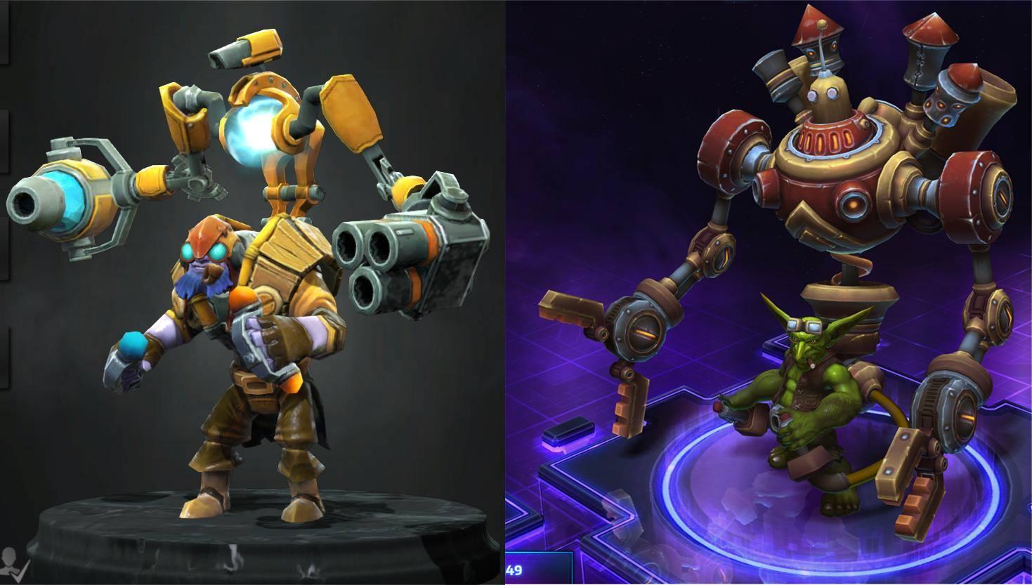 dota 2 vs heroes of the storm heroes