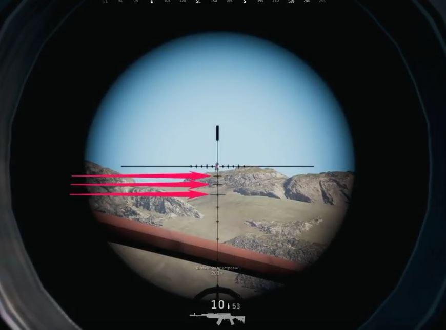 Как сделать чтобы прицел был по центру