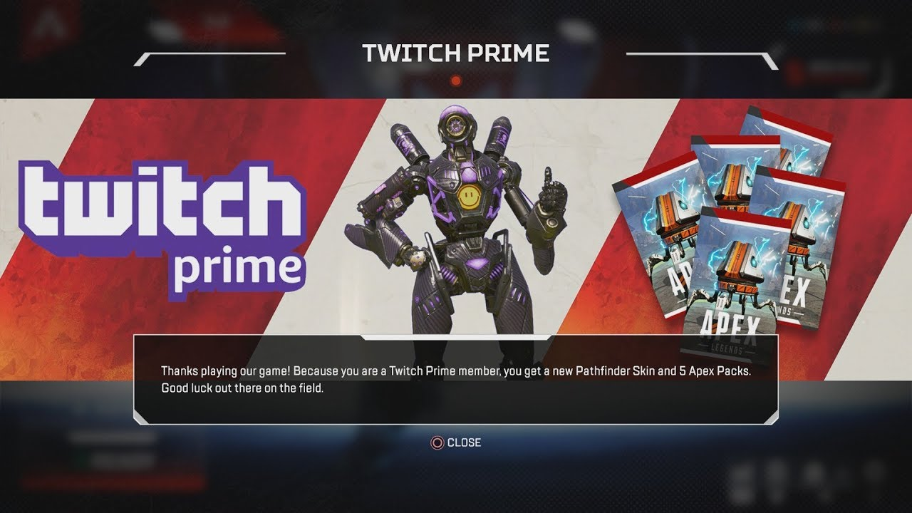 How to get 5 free Apex packs and a Pathfinder legendary skin